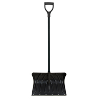 Poly Snow Shovel with Steel Wear Strip NM809 | Aurora Tools
